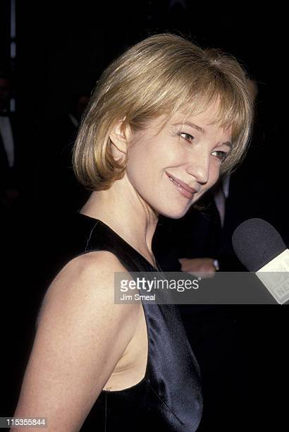 Ellen Barkin during American Film Institute Honors Jack Nicholson with 1994 Life Achievement Award at Beverly Hilton Hotel in Beverly Hills...
