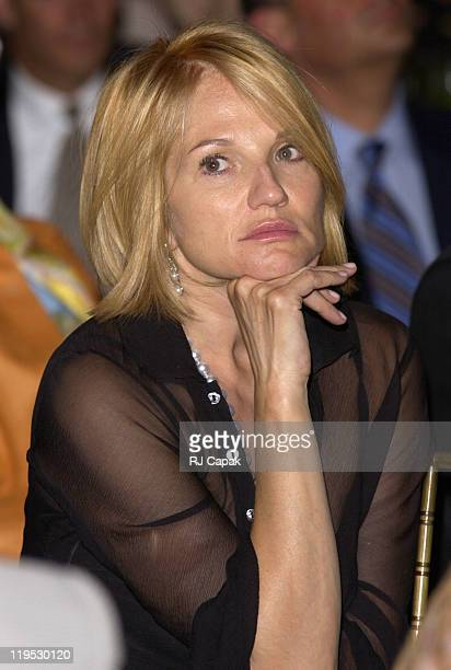 Ellen Barkin during NRDC's 4th Annual Forces For Nature Gala Event Honoring Trudie Styler Dan Tishman And Gary Trudeau With Performance By James...