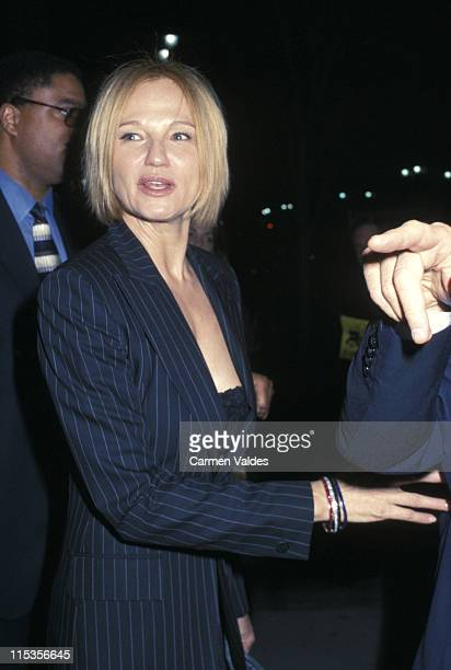 Ellen Barkin during VH1 and Revlon Present 'Sheryl Crow and Friends' 10th Anniversary of Breast Cancer Coalition at Hammerstein Ballroom in New York...