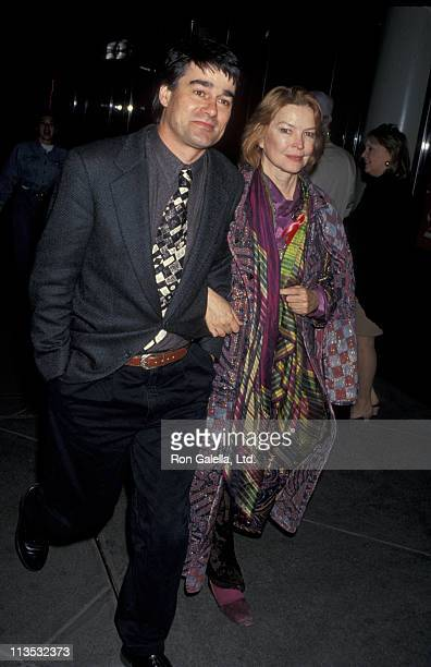 Ellen Burstyn and Guest during Opening of 'Three of Hearts' at Lowe's 57th Street Playhouse in New York City New York United States