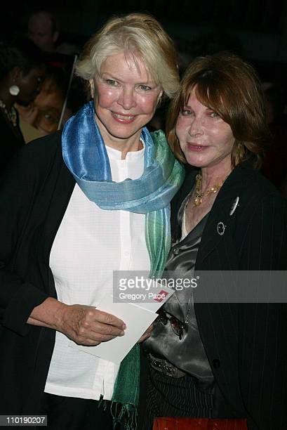 Ellen Burstyn and Lee Grant during 'Fahrenheit 9/11' Special New York Screening at Ziegfeld Theater in New York City New York United States