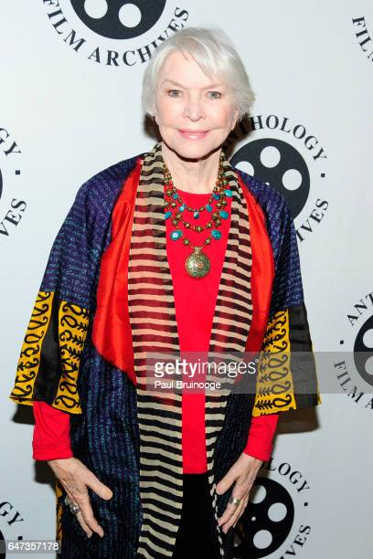 Ellen Burstyn attends The Anthology Film Archives Benefit and Auction at Capitale on March 2 2017 in New York City