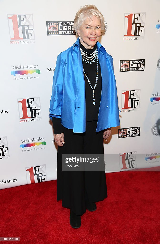 Ellen Burstyn attends the closing night awards during the 2013 First Time Fest at The Players Club on March 4, 2013 in New York City.