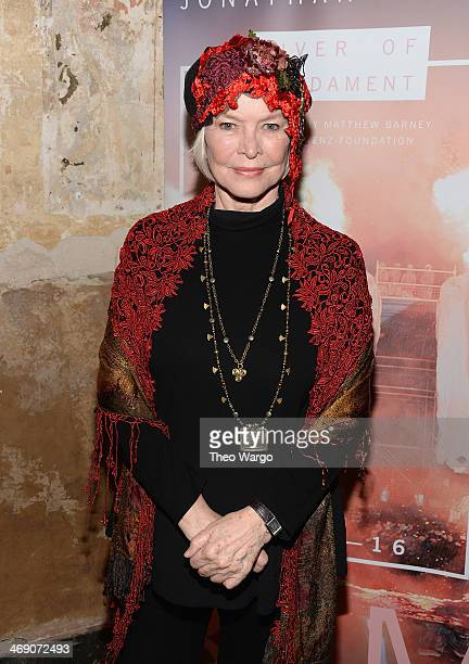 Ellen Burstyn attends the 'River Of Fundament' world premiere at BAM Harvey Theater on February 12 2014 in New York City