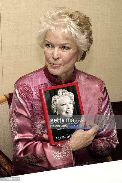 Ellen Burstyn during Academy Award Winner Ellen Burstyn Celebrates the Publication of Her New Memoirs 'Lessons in Becoming Myself' at Carnegie...