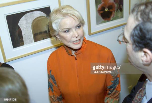 Ellen Burstyn during Ellen Burstyn Celebrates a Lifetime of Photographs New York at Uma Gallery in New York City New York United States