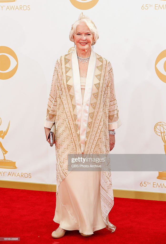 Ellen Burstyn on the Red Carpet for the 65th Primetime Emmy Awards, which will be broadcast live across the country 8:00-11:00 PM ET/ 5:00-8:00 PM PT from NOKIA Theater L.A. LIVE in Los Angeles, Calif., on Sunday, Sept. 22 on the CBS Television Network.