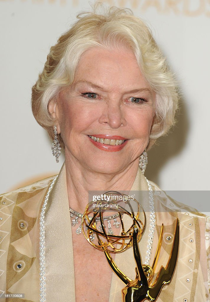 Ellen Burstyn poses at the 65th Annual Primetime Emmy Awards at Nokia Theatre L.A. Live on September 22, 2013 in Los Angeles, California.