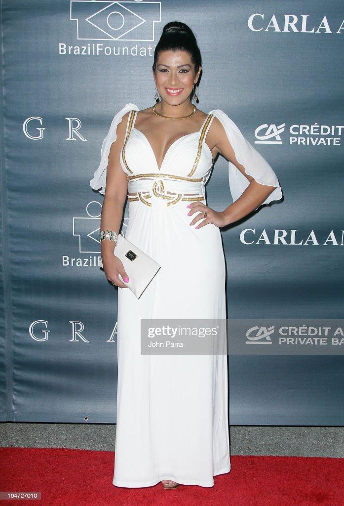 Ellen Cardoso attends the II BrazilFoundation Gala Miami at Vizcaya Museum & Gardens on March 26, 2013 in Miami, Florida.