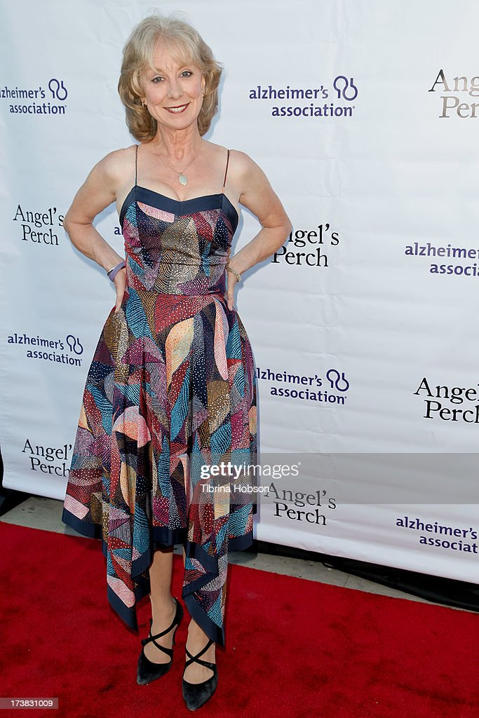 Ellen Crawford attends the Alzheimer's Association and Scrappy Cat Productions premiere of 'Angel's Perch' at Laemmles Royal Theatre on July 17, 2013 in Los Angeles, California.