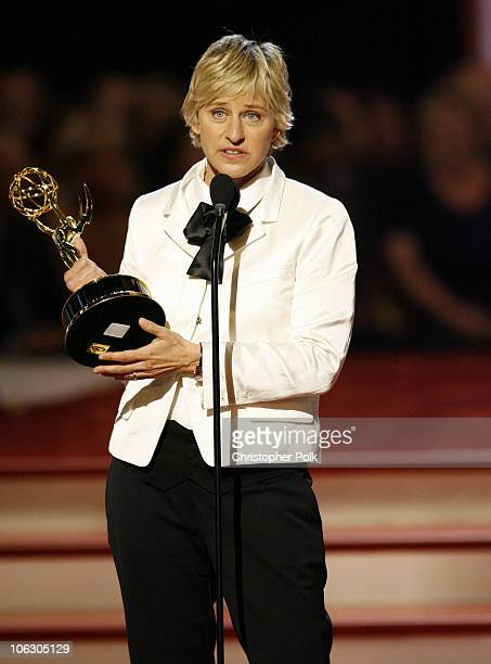 Ellen DeGeneres accepts Outstanding Talk Show Host award for 'The Ellen DeGeneres Show'