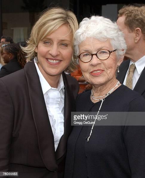 Ellen DeGeneres and mother Betty DeGeneres