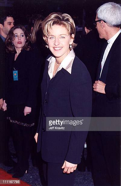 Ellen DeGeneres during 1994 Cable Ace Awards in Los Angeles California United States