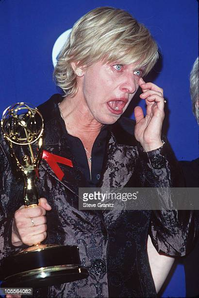 Ellen DeGeneres during 49th Annual Primetime Emmy Awards at Pasadena Civic Auditorium in Pasadena California United States