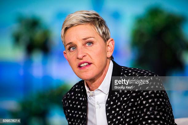 Ellen DeGeneres during a taping of The Ellen DeGeneres Show May 24 2016 in Burbank CA 'n'n
