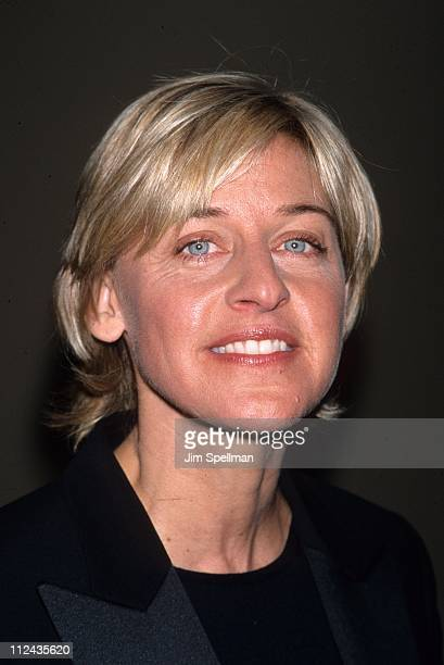 Ellen DeGeneres during Directors Guild of America Gala Honoring Mike Nichols and Sydney Pollack 2000 at Grand Hyatt in New York New York United States