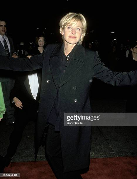 Ellen DeGeneres during The 39th Annual GRAMMY Awards Sony Records After Party at Manhattan Center in New York City New York United States