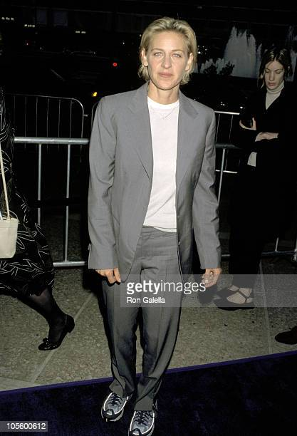 Ellen DeGeneres during 'The Love Letter' Los Angeles Premiere at Cineplex Odeon Theater in Century City California United States