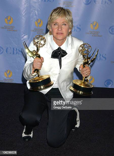 Ellen DeGeneres winner Outstanding Talk Show and Outstanding Talk Show Host for 'The Ellen DeGeneres Show'