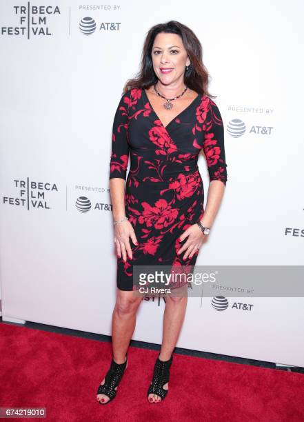 Ellen Goldfarb attends the premiere of 'Dare to be Different' during the 2017 Tribeca Film Festival at Spring Studios on April 27 2017 in New York...