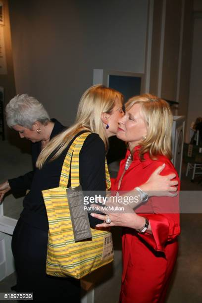 Ellen Gustafson and Sharon Bush attend LORD TAYLOR Mother/Daughter Tea for FEED with LAUREN BUSH and ELLEN GUSTAFSON at Lord Taylor on May 7 2010 in...