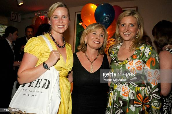Ellen Gustafson Sharon Bush and Cynthia Lufkin attend 'PARTY FAVORS' by Nicole Sexton Book Release Party at Michael's on July 29 2008 in New York City