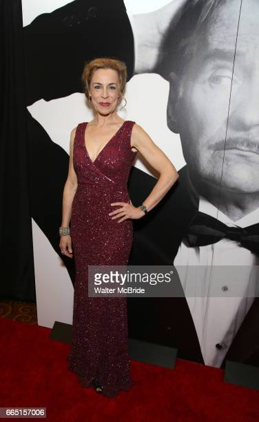 Ellen Harvey attends Broadway Opening Night After Party for 'Present Laughter' at Gotham Hall on April 5 2017 in New York City