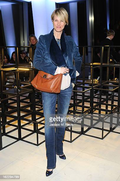 Ellen Hidding attend the Sergio Rossi presentation cocktail during Milan Fashion Week Womenswear Fall/Winter 2013/14 on February 21 2013 in Milan...