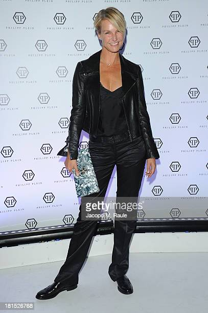 Ellen Hidding attends Philipp Plein Event as part of Milan Fashion Week Womenswear Spring/Summer 2014 at Piazza Vetra on September 21 2013 in Milan...