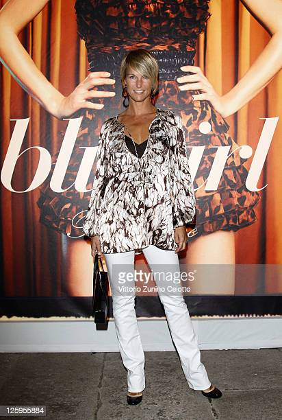 Ellen Hidding attends the Blugirl Spring/Summer 2012 fashion show as part Milan Womenswear Fashion Week on September 22 2011 in Milan Italy