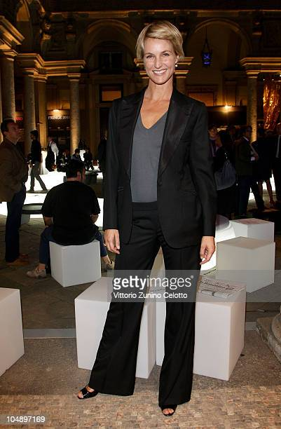Ellen Hidding attends the Light Exhibition Design Opening on October 6 2010 in Milan Italy