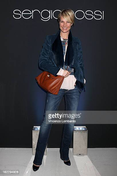 Ellen Hidding attends the Sergio Rossi presentation cocktail during Milan Fashion Week Womenswear Fall/Winter 2013/14 on February 21 2013 in Milan...