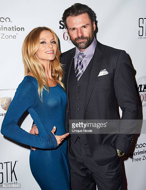 Ellen Hollman and Stephen Dunlevy attends the Smash Global IV Event at Taglyan Complex on September 15 2016 in Los Angeles California