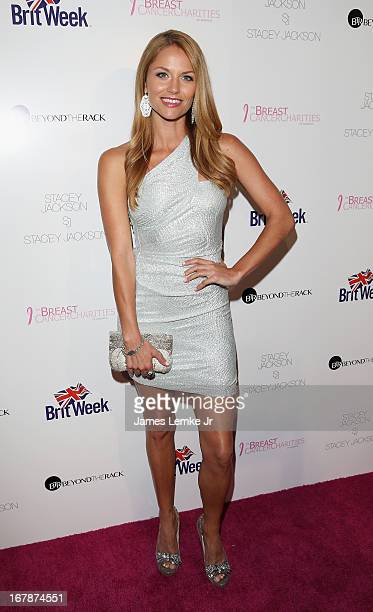 Ellen Hollman attends the Official Launch Party Of Stacey Jackson's Debut Album Benefiting Breast Cancer Charities of America held at the Bardot on...