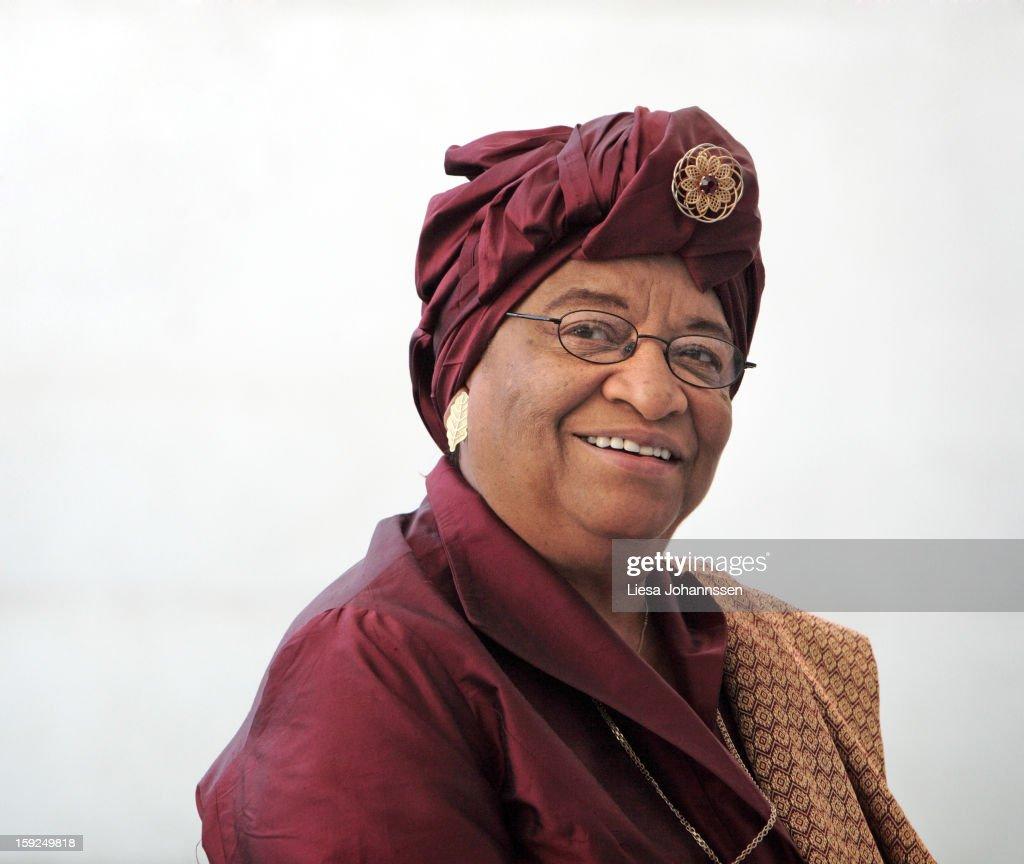 Ellen Johnson-Sirleaf, President of the Republic of Liberia, May 22, 2007 in Berlin, Germany.