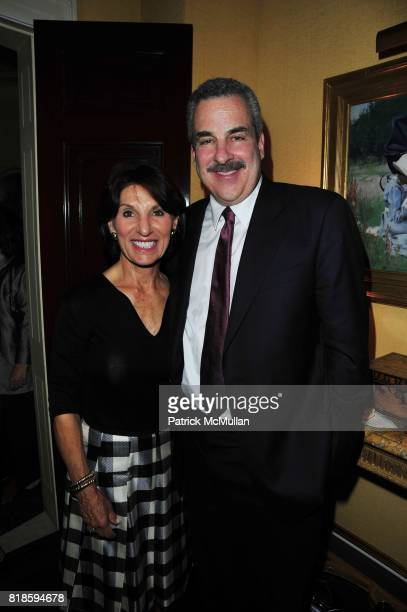Ellen Katz and Dr Howard Koplewicz attend Dinner party to celebrate The Child Mind Institute's 2010 Adam Jeffrey Katz Memorial Lecture Series at The...
