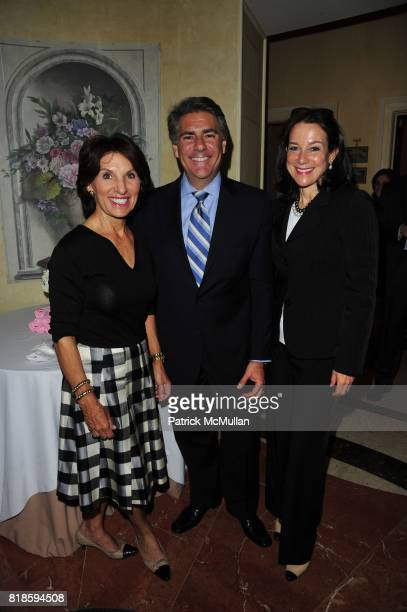 Ellen Katz Richard Mishaan and Felice Axelrod attend Dinner party to celebrate The Child Mind Institute's 2010 Adam Jeffrey Katz Memorial Lecture...