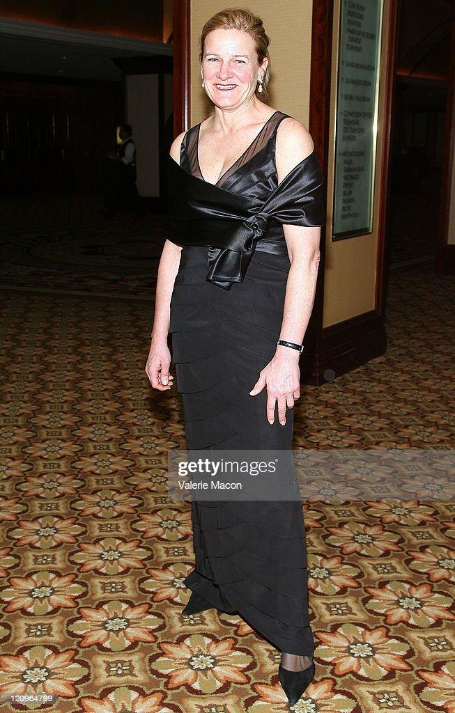 Ellen Kuras arrives at the American Society of Cinematographers' 23rd Annual Achievement Awards at the Hyatt Regency Century Plaza Hotel on February...