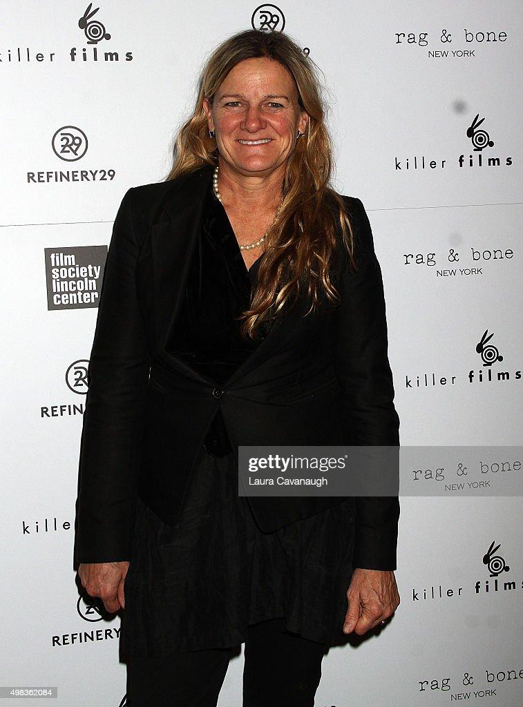 Ellen Kuras attends Killer Films' 20th Anniversary at Roxy Hotel on November 22 2015 in New York City
