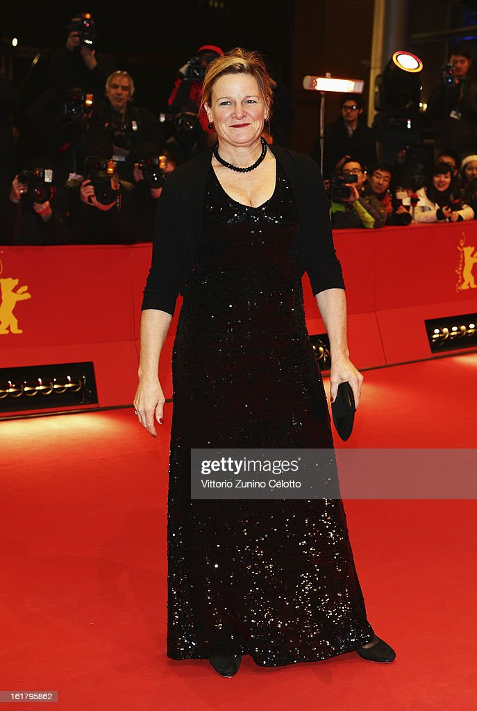 Ellen Kuras attends the Closing Ceremony of the 63rd Berlinale International Film Festival at Berlinale Palast on February 14 2013 in Berlin Germany