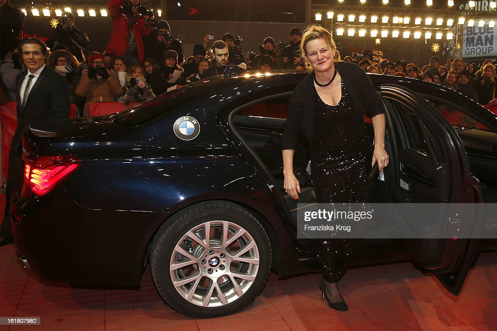 Ellen Kuras attends the Closing Ceremony Red Carpet Arrivals BMW At The 63rd Berlinale International Film Festival at BerlinalePalast on February 16...