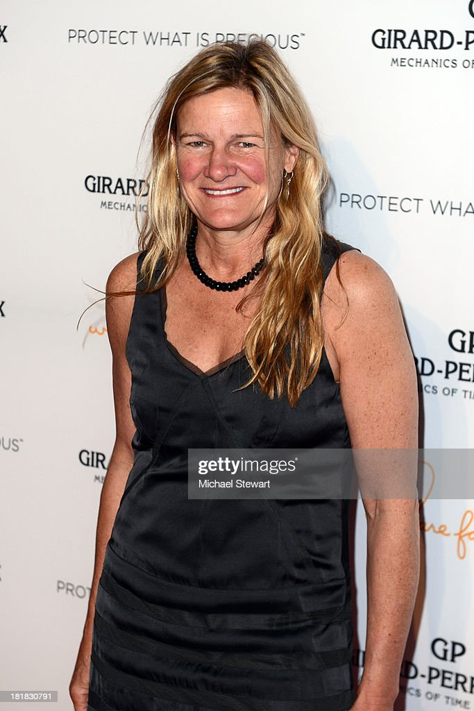 Ellen Kuras attends the GirardPerregaux launch of the Mission of Mermaids watch with Susan and David Rockefeller to benefit Nile Rodgers' We Are...