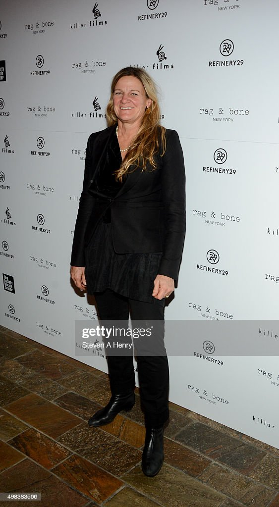 Ellen Kuras attends the Killer Film's 20th Anniversary at the Roxy Hotel on November 22 2015 in New York City
