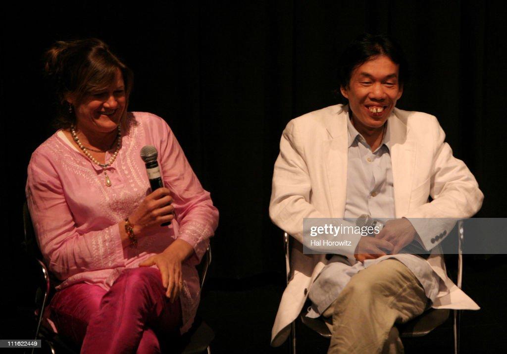 Ellen Kuras director and Thavisouk Phrasavath during Sundance Festival at BAM 2007 Screening of Nerakhoun The Centre Will Not Hold at BAMrose in...