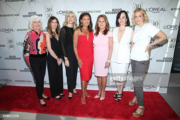 Ellen Levine Carole Radziwill Jane Francisco Vanessa Williams Marlo Thomas Patricia Haegele and Ali Wentworth attend L'Oréal Paris Good Housekeeping...