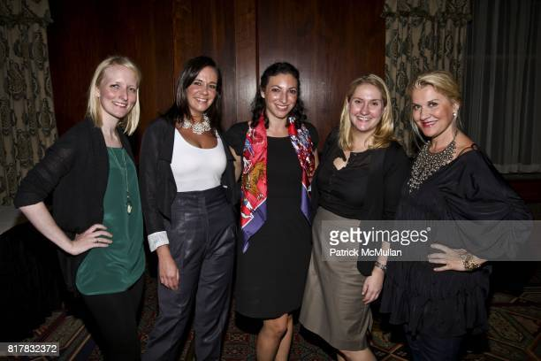 Ellen Miller Lauren Friedman Sarah Wichman Toby Goldstein and Jaqui Stafford attend a Celebration for the Publication of Robert T Grant's Book...