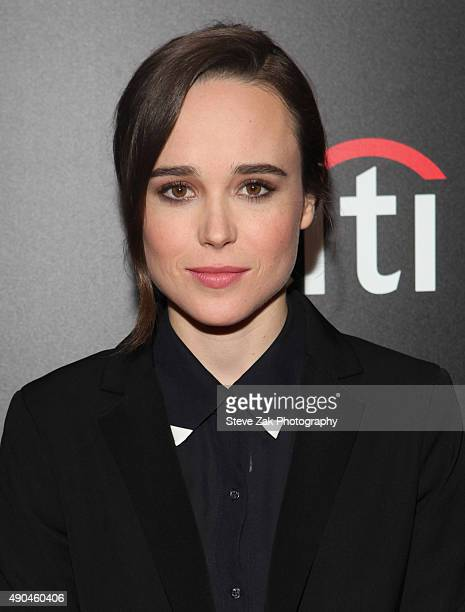 Ellen Page attends 'Freeheld' New York Premiere at Museum of Modern Art on September 28 2015 in New York City