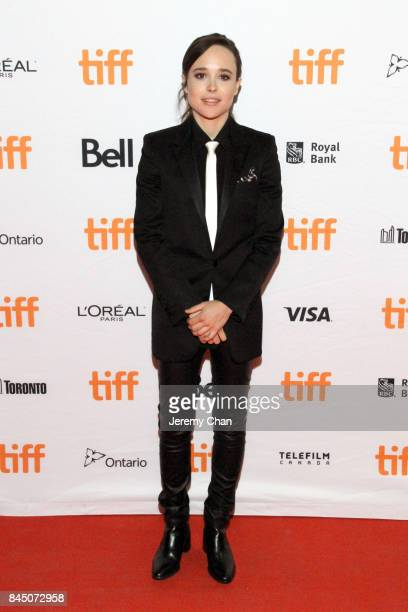 Ellen Page attends 'The Cured' premiere during the 2017 Toronto International Film Festival at Ryerson Theatre on September 9 2017 in Toronto Canada