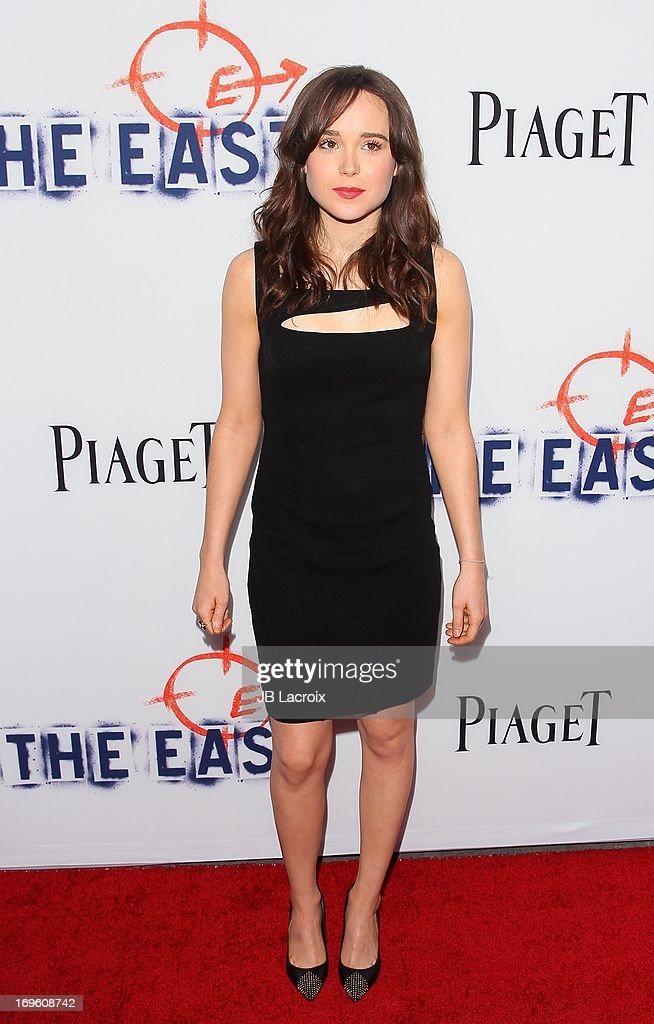 Ellen Page attends 'The East' Los Angeles Premiere held at ArcLight Hollywood on May 28, 2013 in Hollywood, California.