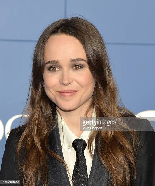 Ellen Page attends the 'XMen Days Of Future Past' world premiere at Jacob Javits Center on May 10 2014 in New York City
